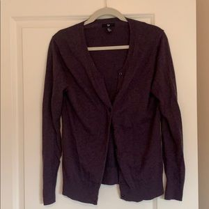 Purple Gap cardigan
